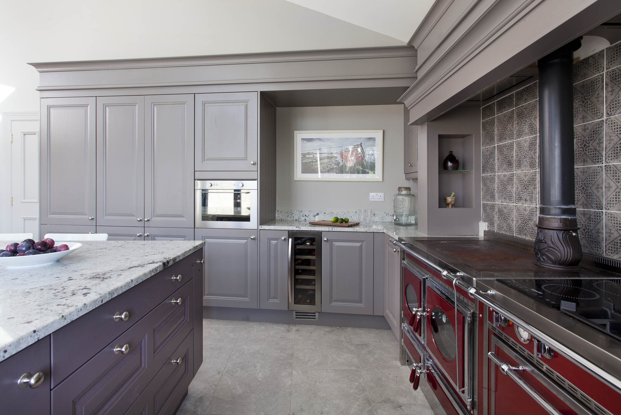 Painted Classic Solid Ash Kitchen